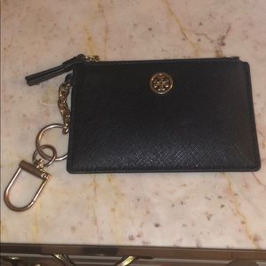 Tory Burch card case with keychain